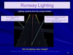edge lighting change color runway centerline lights are typically what color www lightneasy net