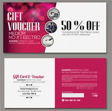 business gift cards 25 business voucher templates free sle exle format