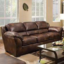 Simmons Leather Sofa Nubuck Harvest Bonded Leather Sofa By Simmons