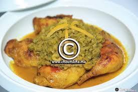cuisine de choumicha recette tajine de poulet à la sauce d oignons