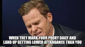 Proxy Meme - image tagged in steve smith baby imgflip