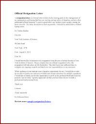 Resignations Letter Template 10 Resignation Letter Sample Effective Immediately Sendletters Info