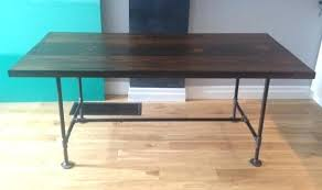 diy pipe desk plans pipe desk plans iron pipe desk reclaimed wood desk table solid oak w