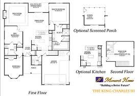 Monarch Homes Floor Plans King Charles Iii Monarch Homes Of North Carolina
