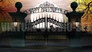spookyt halloween background spooky halloween cemetery background loop 2 youtube