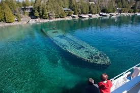 the sweepstakes shipwreck tobermory boat tours