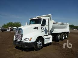 kenworth tandem dump truck kenworth t660 in phoenix az for sale used trucks on buysellsearch