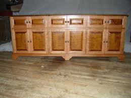 Tiger Maple Furniture Video Cabinet Vermont Furniture Works