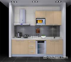 Beige Practical Style Melamine Beige Custom Small Kitchen Design - Kitchen cabinets melamine