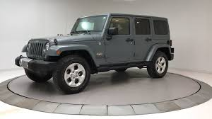 jeep wrangler 2014 used jeep wrangler unlimited wrangler unlimi 4dr 4wd at bmw