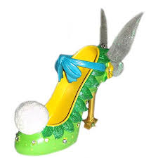 your wdw store disney shoe ornament tinker bell