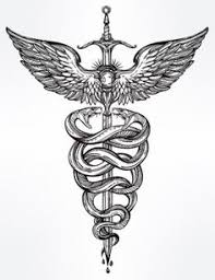 caduceus tattoo google search tattoos pinterest caduceus