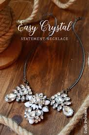 diy jewelry statement necklace images Diy statement necklace tutorial quick easy consumer crafts jpg
