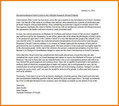 6 sample recommendation letter for student scholarship quote