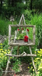 rustic garden art gardening ideas