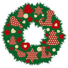 christmas wreath royalty free stock image storyblocks