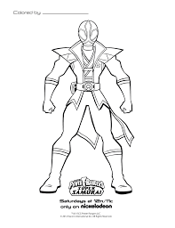coloring pages power rangers samurai power rangers birthday