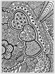 coloring pages printable heart coloring pages adults designs