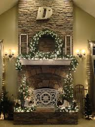 21 best christmas fireplaces images on pinterest christmas