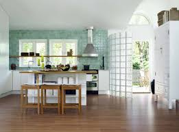 kitchen wood backsplash two tone painted cabinet ideas pros and