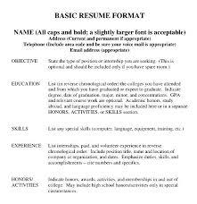 college resume format free samples examples u0026 format resume
