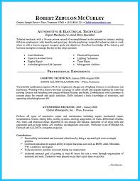 Auto Mechanic Job Description Resume by Tire Technician Job Description Resume Free Resume Example And