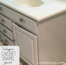 How To Paint Cabinets To Look Distressed Valspar Cabinet Enamel Paint U Create