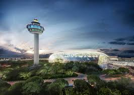 Saf reveals greenhouse for Singapore s Changi airport