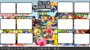 I Dont Always Meme Blank - super smash bros controversy meme blank by roro102900 on deviantart