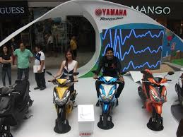 motorcycle philippines yamaha motor philippines introduces new attitude old