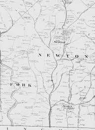 Nc Maps Newton Nc Area Map