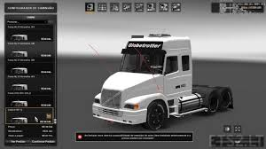 white volvo truck volvo nl12 ets 2 mods