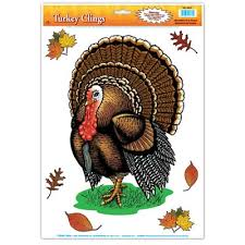 buy thanksgiving clings fall decorations cappel s