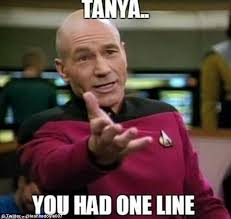 One Line Memes - tanya you had one line fans react to eastenders blunder memes