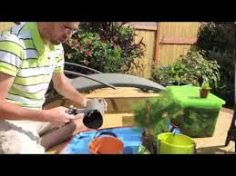 how to plant a container with no drainage holes youtube