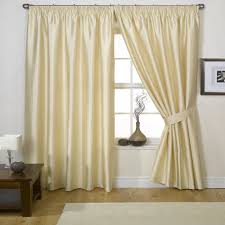 Raw Silk Drapery Panels by Faux Silk Curtains Bedroom Decoration The Silk Curtains