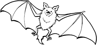 free printable bat coloring pages for kids for halloween bats