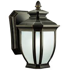 Kichler Outdoor Wall Sconce Kichler 9039rz 60w Salisbury Transitional Style Outdoor Wall Light