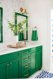 best 25 green bathroom mirrors ideas on pinterest diy bathroom colorful home remodel creates a study in contrasts
