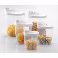 airtight kitchen canisters aliexpress com buy 5piece locking clear acrylic plastic food