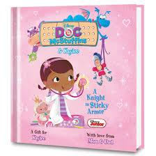 doc mcstuffins personalized doc mcstuffins book put