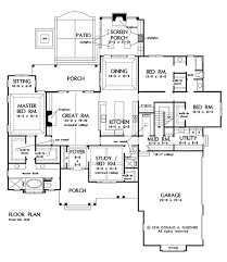Favorite House Plans Now Available The Travis Plan 1350 Craftsman Ranch Open