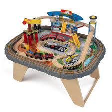wood train set with table xtreme wheelz com