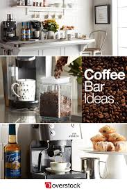 kitchen coffee bar ideas coffee bar how to be your own barista overstock com