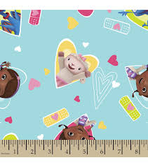 doc mcstuffins wrapping paper disney junior doc mcstuffins print fabric joann