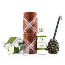 thymes frasier fir thymes frasier fir pinecone reed diffuser home kitchen