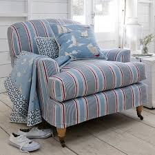 Coordinating Upholstery Fabric Collections Clarke And Clarke Maritime Prints Fabric Collection Blue And