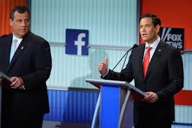 Chris Christie Resume Marco Rubio 2016 Gop Debate If The Election Is About Experience