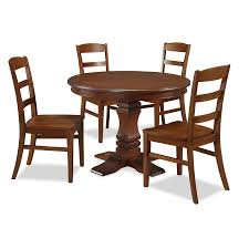 rustic round dining room tables shop home styles aspen rustic cherry dining set with round dining