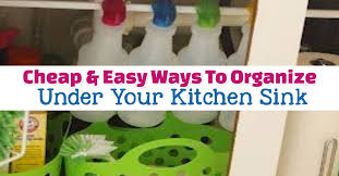 kitchen sink cabinet storage ideas cabinet organization ideas clever ways to organize